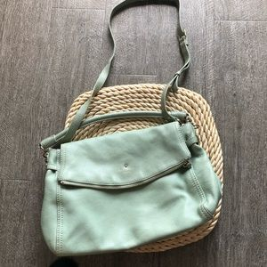 Mint Kate spade satchel